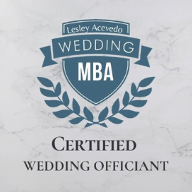 Certified Wedding Officiant